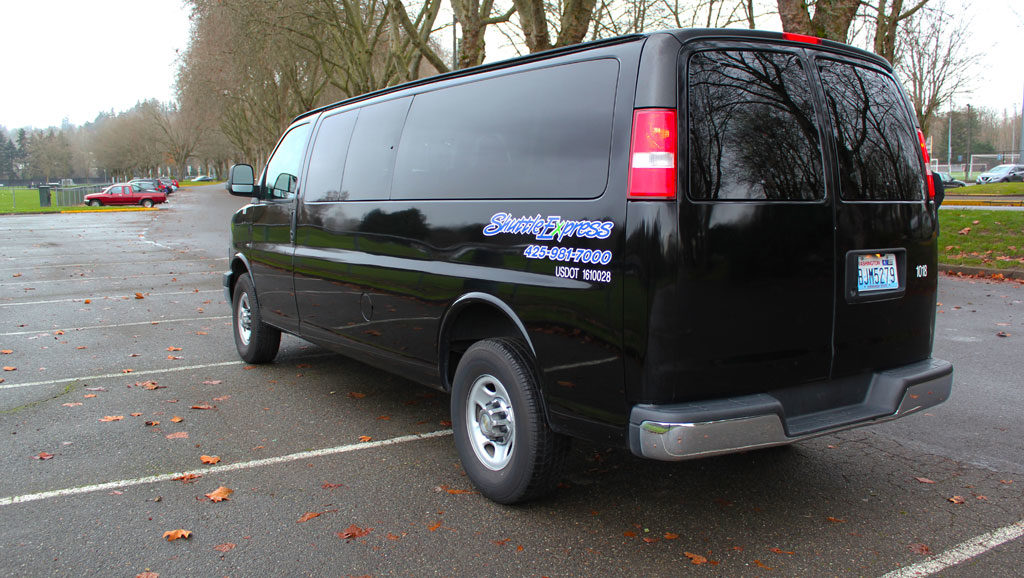 8175e835d0c6 Private Van Services in Seattle and Bellevue area from Shuttle Express
